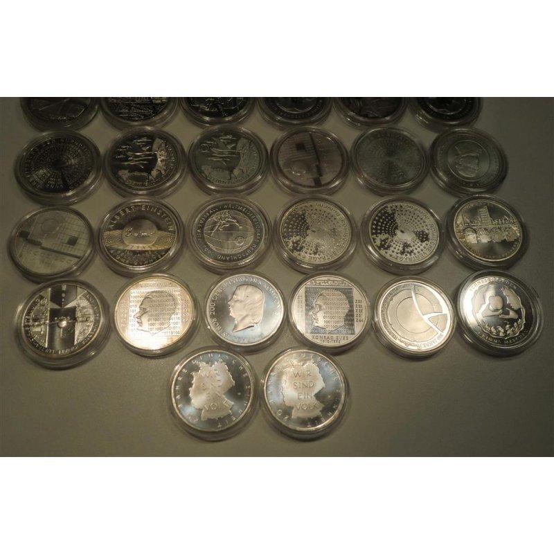 35 Stück 10 Euro Münze 2002 Bis 2010 2013 Vz St Sp Pp Brd